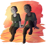 DS9 - 10-8 Elim and Pythas by noxfoxArts