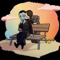 Com - Terran kisses