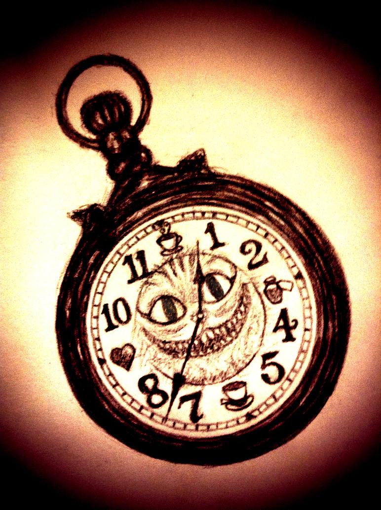 wonderland pocket watch by xxsirinxx on deviantart