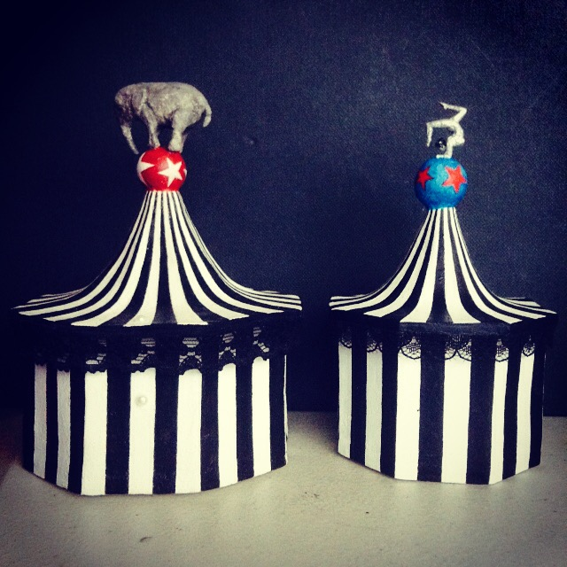 Circus Tent Jewelry Boxes by xxsirinxx