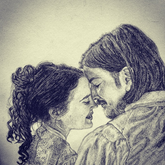 Vanessa Ives and Ethan Chandler by xxsirinxx