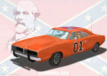 The General and Robert E. Lee by rockin-knight
