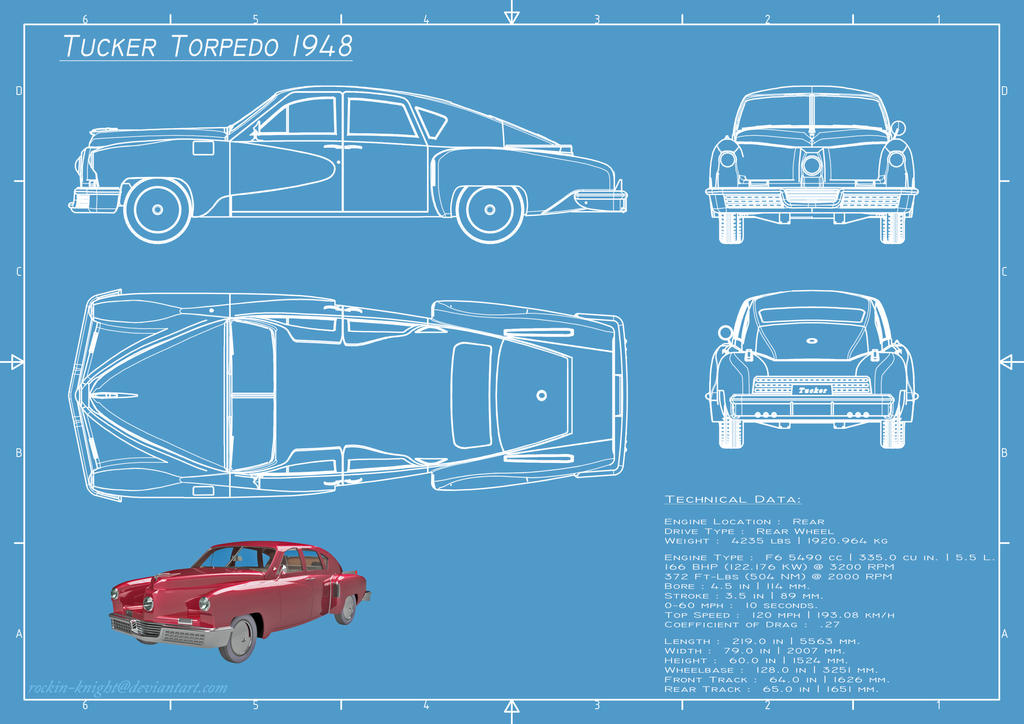 Blueprint tucker 1948 by rockin knight on deviantart blueprint tucker 1948 by rockin knight malvernweather Images