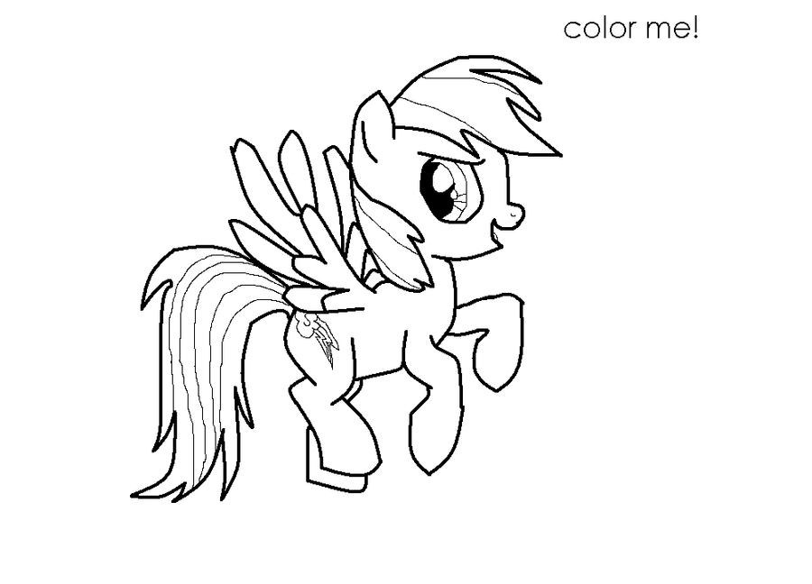 Rainbow Dash Lineart By Flippyfangirl666 On DeviantArt