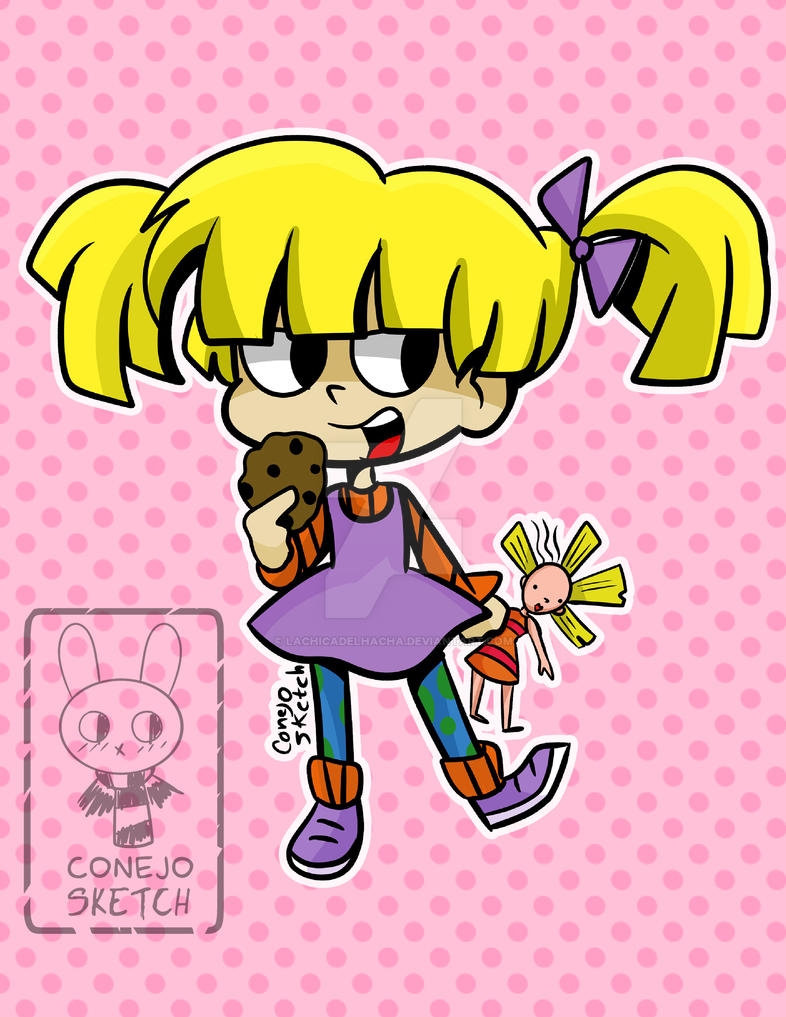 Angelica Pickles by lachicadelhacha on DeviantArt