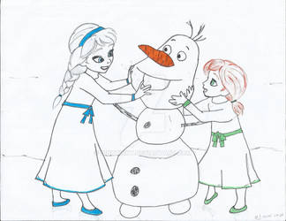 Do you want to build a snowman? WIP