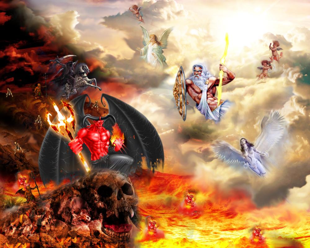 War between heaven and hell by ruen gfx
