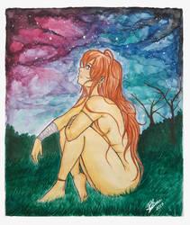 Mayli_Shinsora_Watercolor by BLuisi