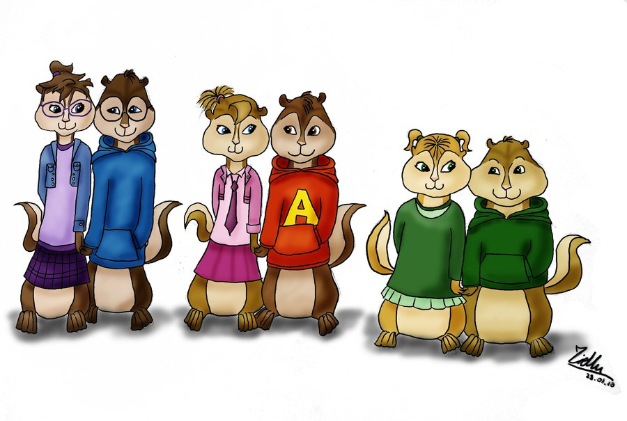 Chipmunks And Chipettes By AshleyGirlJava On DeviantArt