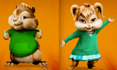 theodore alvin and the chipmunks girl