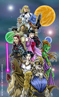 Star wars girls by soyivang