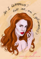 Lana del Rey by soyivang