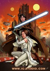 Senator and Jedi Knight by soyivang