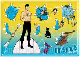 Mr Spock . Paperdoll