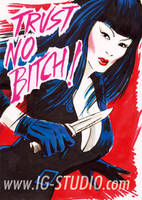 Trust no Bitch 1 Tura Satana by soyivang