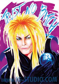 Trust no Bitch 4 Bowie as Jareth