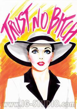 Trust no Bitch 6 Joan Collins as Alexis Carrington