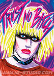 Trust no Bitch 10 Replicant Pris by soyivang