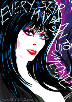 Carl Sagan Reach the Stars - Elvira