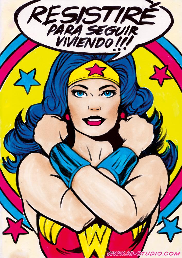 Wonder Woman by soyivang