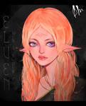 Portrait of an elven girl