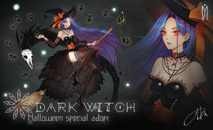 [CLOSED] Halloween adopt auction - Dark Witch