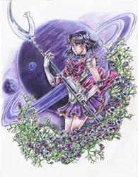Sailor saturm by toziamaterasu