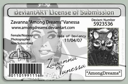 New deviantID II by AmongDreams