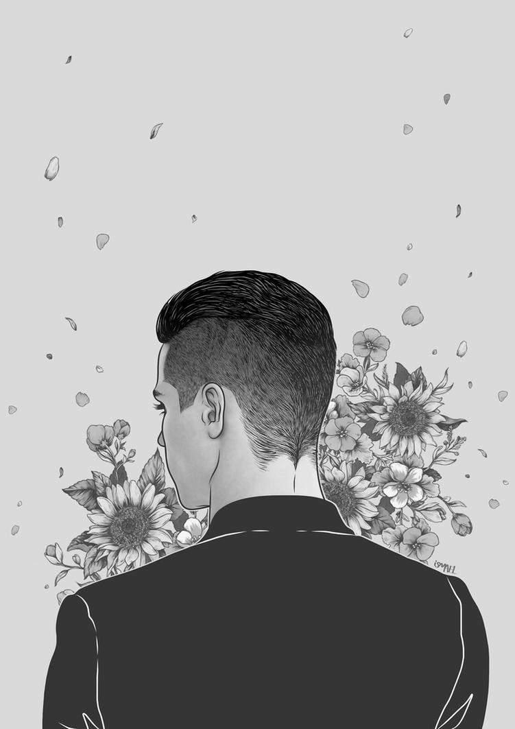 But the flower leaned aside by ismaelalvarez