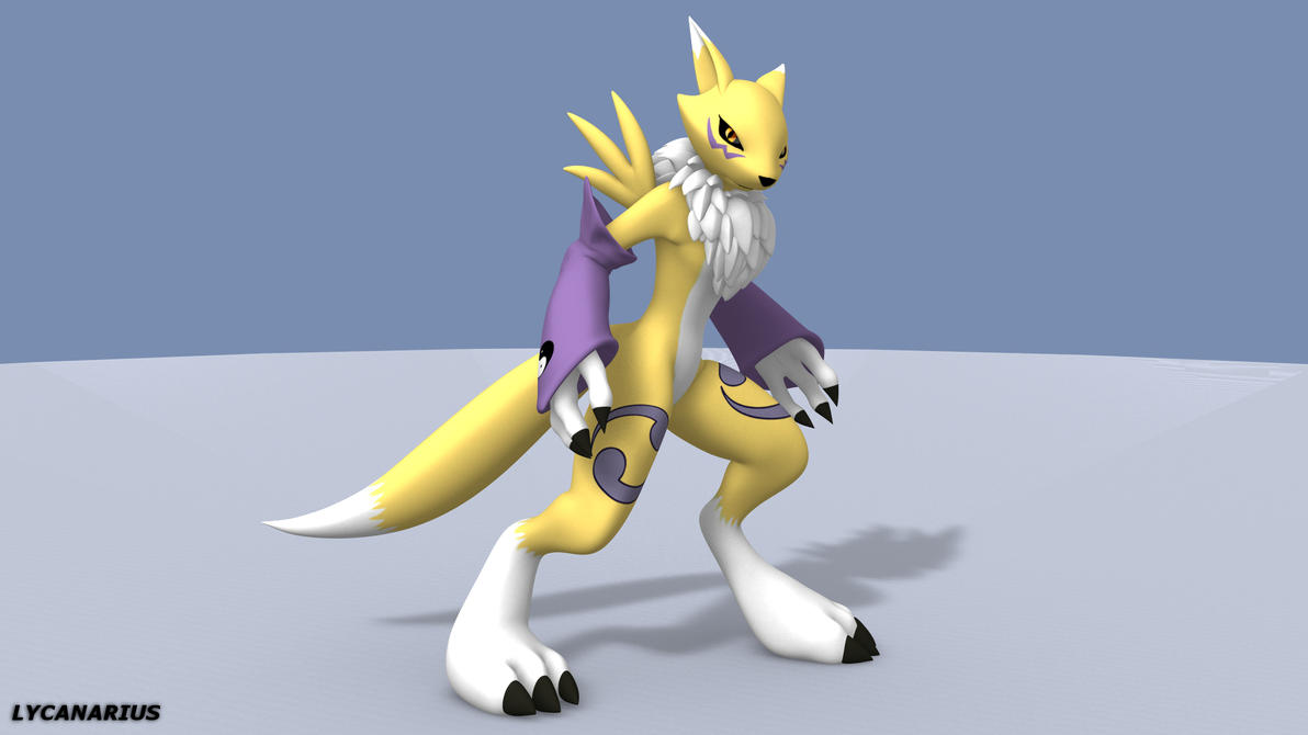 Renamon Test Rig by lycanarius