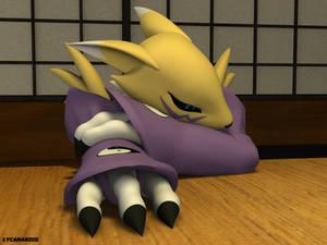 Sad Renamon