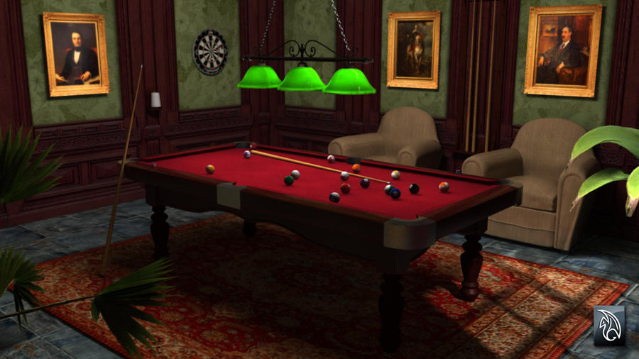 Online Pool Game Chat Room