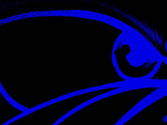 Blue Bulldog Eye by Daring-Dash-Hoof
