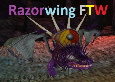 My Dragons in School of Dragons 10- Razorwing by EoinMcVelociraptorMC