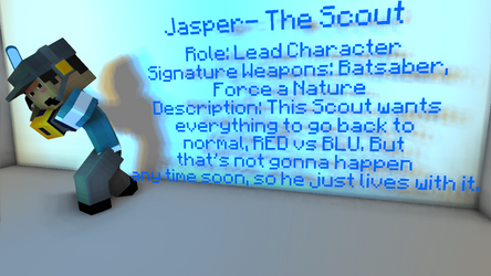 Jasper by EoinMcVelociraptorMC