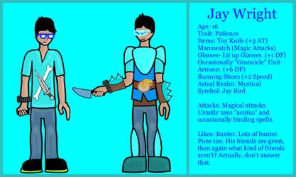 Jay Profile- 6-S by EoinMcVelociraptorMC