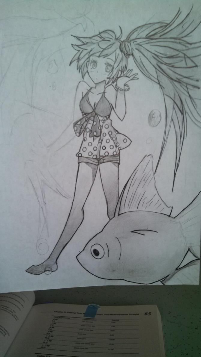Hatsune Miku by Orochimarufanforlife