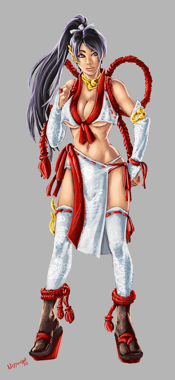 Dead or Alive 5 Momiji by BenjaminWiddowson