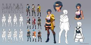 Sense main character - Mei Lin Mak by BenjaminWiddowson