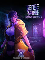 Sense - A cyberpunk Ghost Story by BenjaminWiddowson