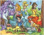 A 4 year old's fairytale