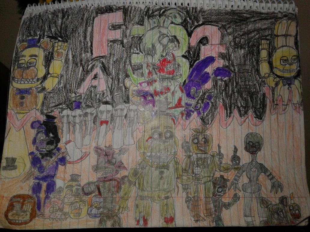 Fnaf 3 drawing by mrredplasmabird12
