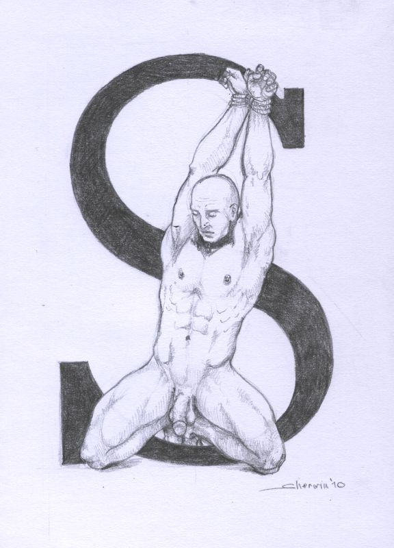 Letter 'S' - bondage alphabet by sherwin-prague