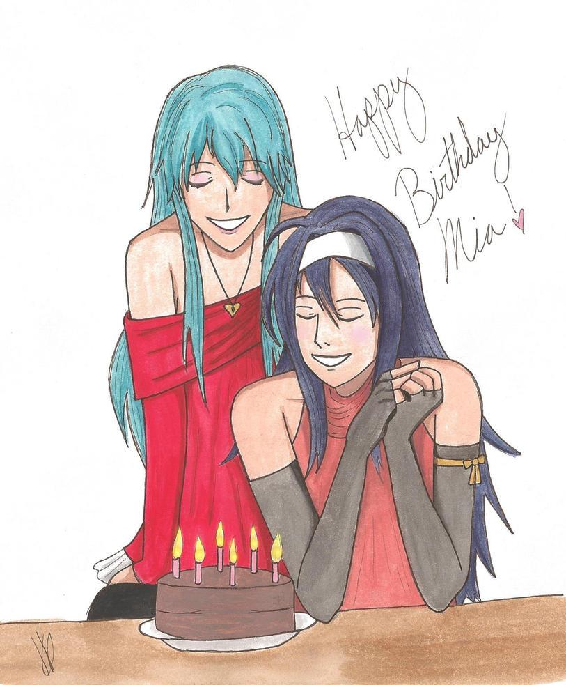 Happy Birthday Mia! by AskEirika