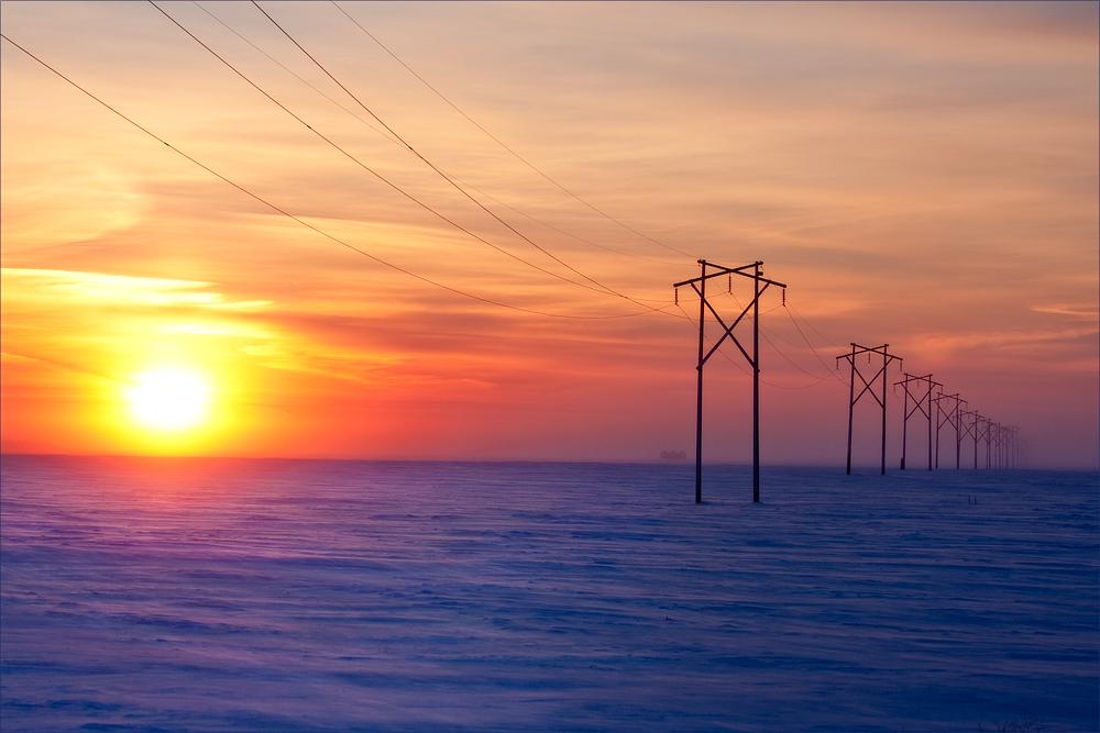 Cold Saskatchewan Morning by Behrfeet