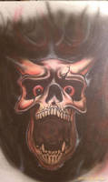 Skull from Hell by Batalha-Enterprises