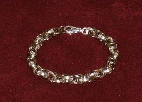 Byzantine Chain Maille Bracelet by Batalha-Enterprises