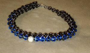 Crystal Spine Bracelet by Batalha-Enterprises