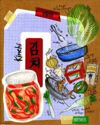 Kimchi Illustrated Recipe by faerhann