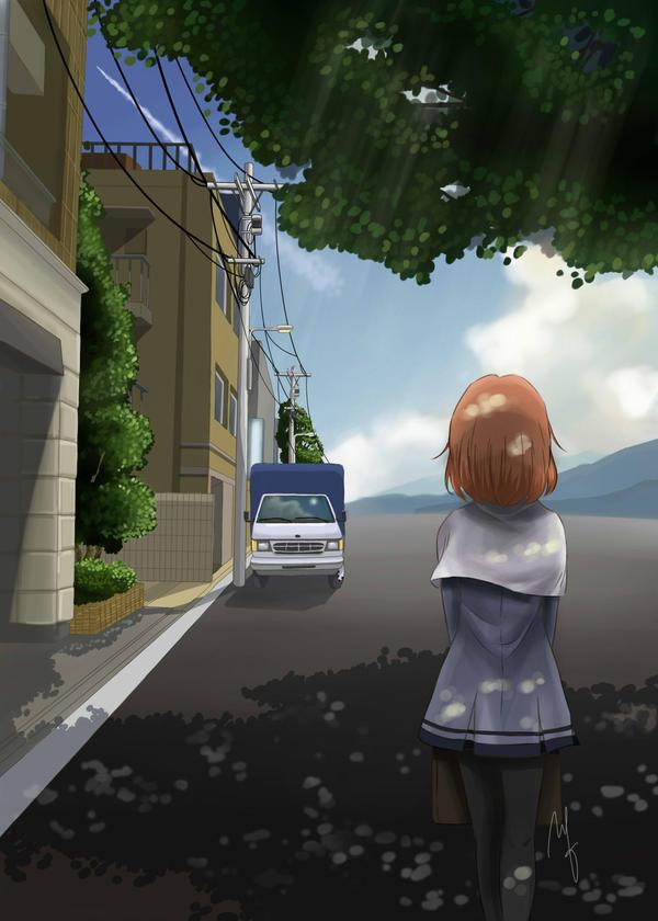 Going To School (TMGS Doujinshi) by faerhann